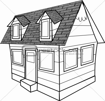 How To Draw 3d House Beautiful Drawing