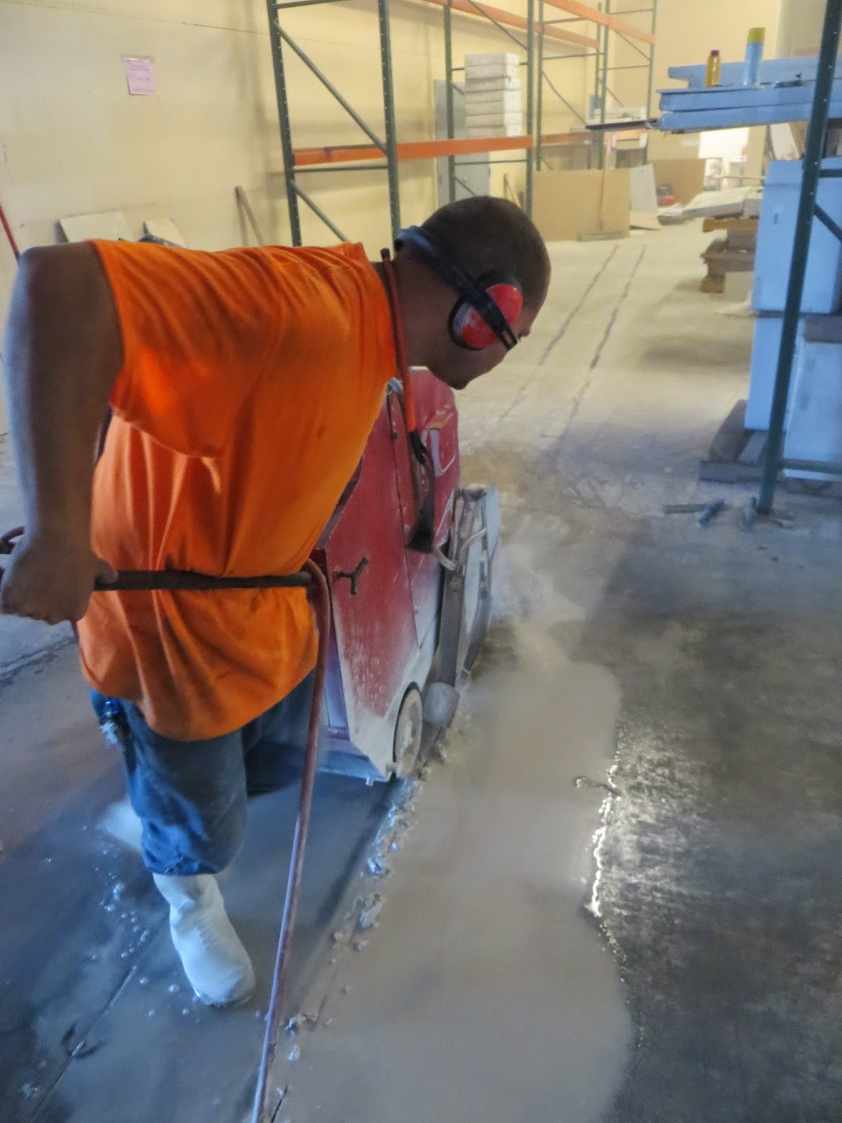 Concrete cutting and removal in Orlando FL