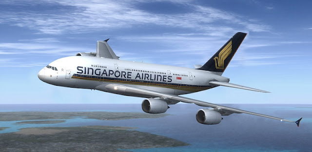 pesawat terbang singapore airlines