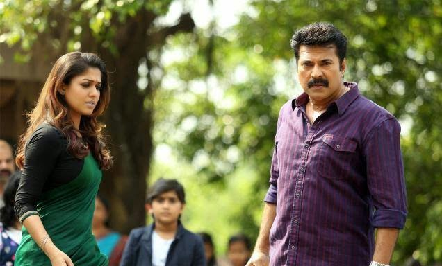 Mammootty Nayanthara in bhaskar the raskal stills