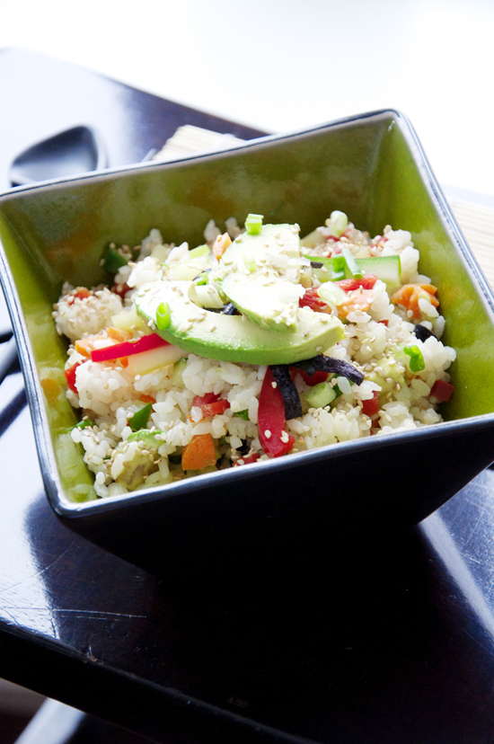 Sushi Salad Recipe!