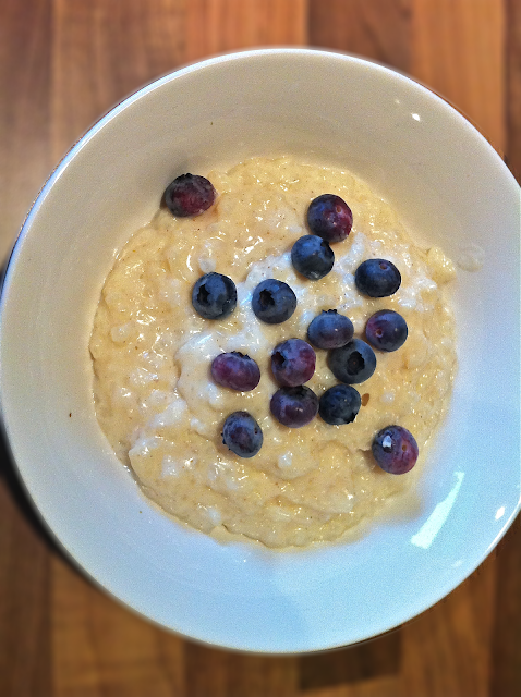 The Greedy Fork: Creamy Rice Pudding
