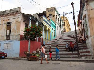 Santiago de Cuba steps at Padre Pico