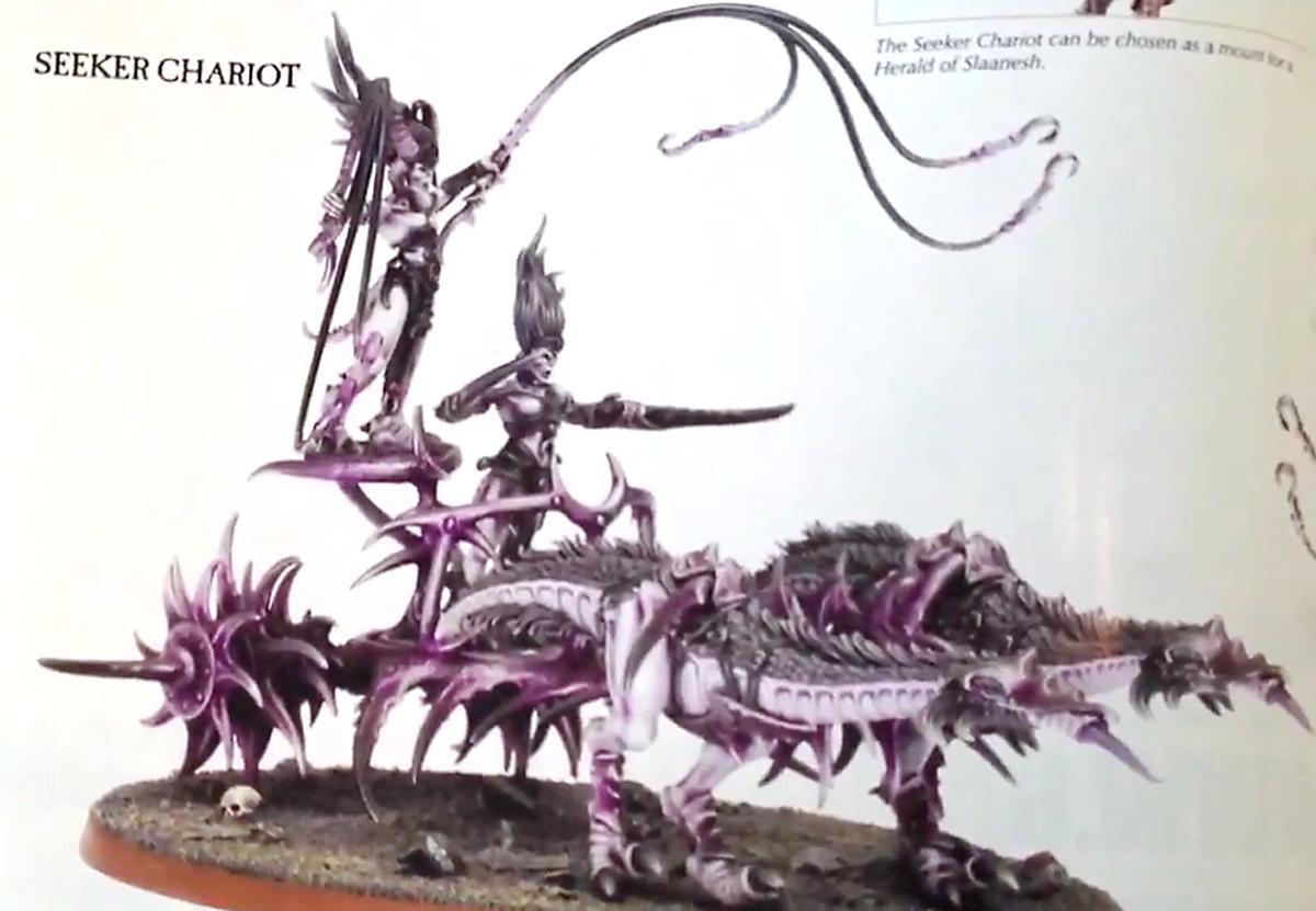 demoni - Demoni del chaos, incoming ad agosto! Chariot+cap