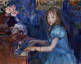 Berthe Morisot - Lucie Leon at the Piano