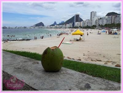 Praia do Leme no Rio de Janeiro