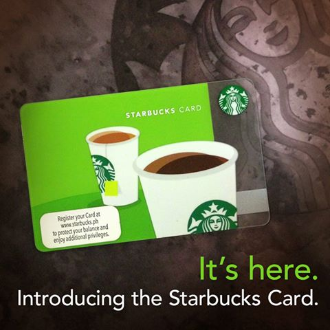 The Starbucks Card Philippines How To Get Aimee Guerrero