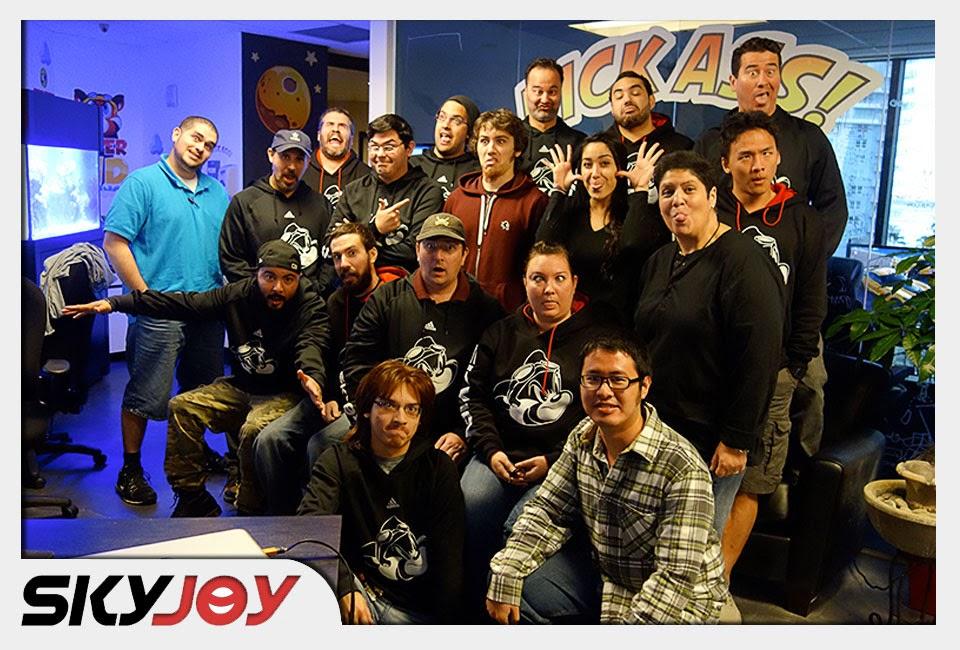 Skyjoy Interactive team