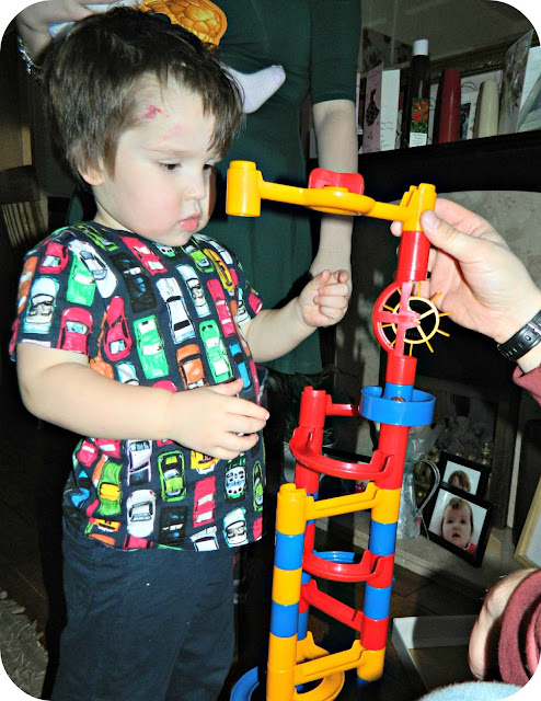 Small Boy Galt Toys Marble Run Playing