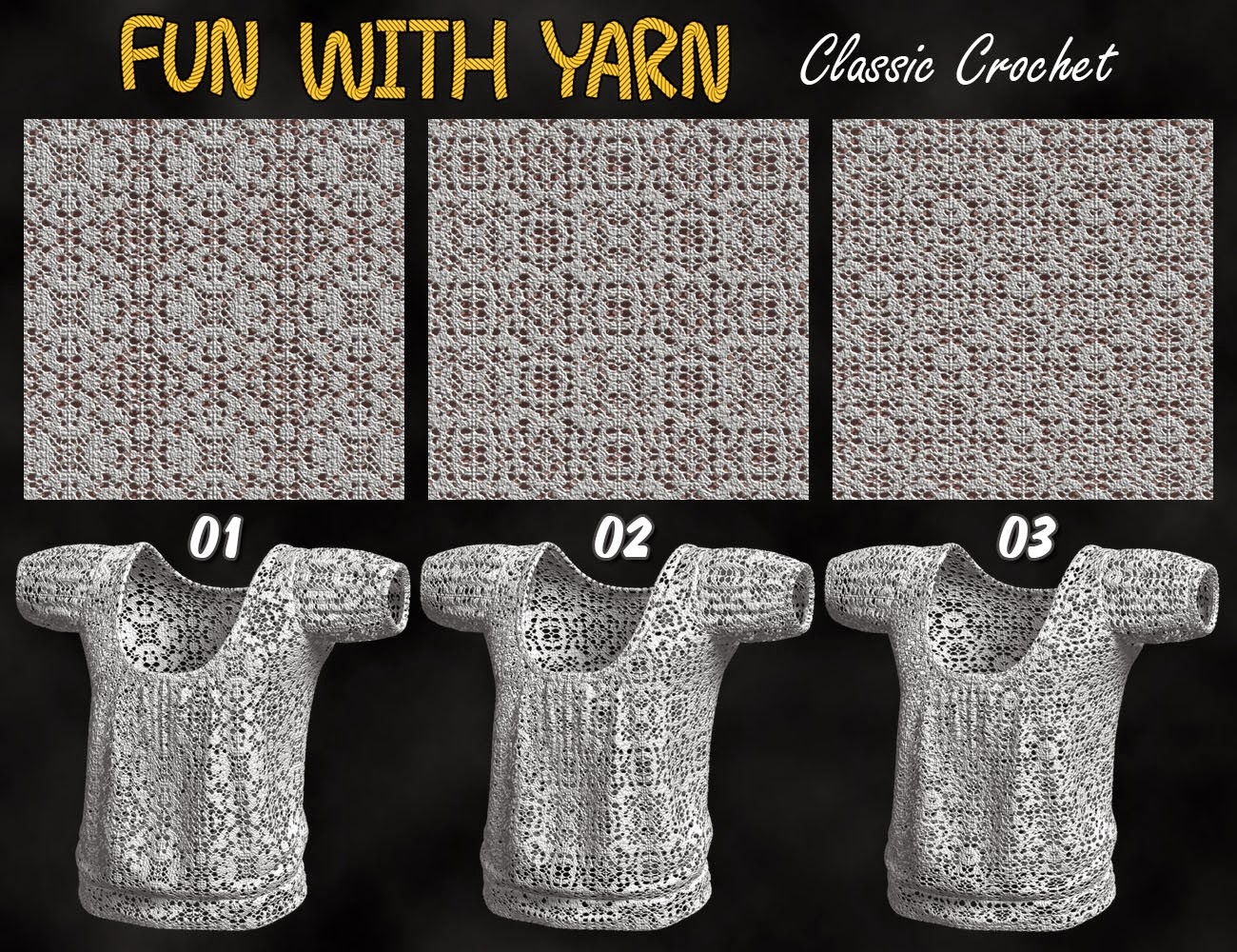 Fun With Fils - Crochet classique