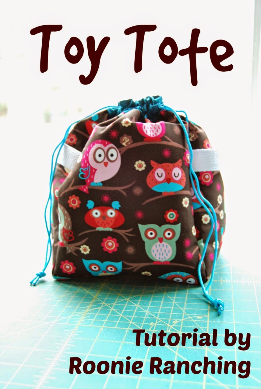 Toys Tote Sewing Tutorial