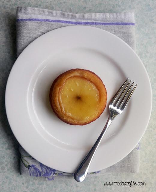 Upside Down Mini Apple Cakes © www.foodbabylife.com