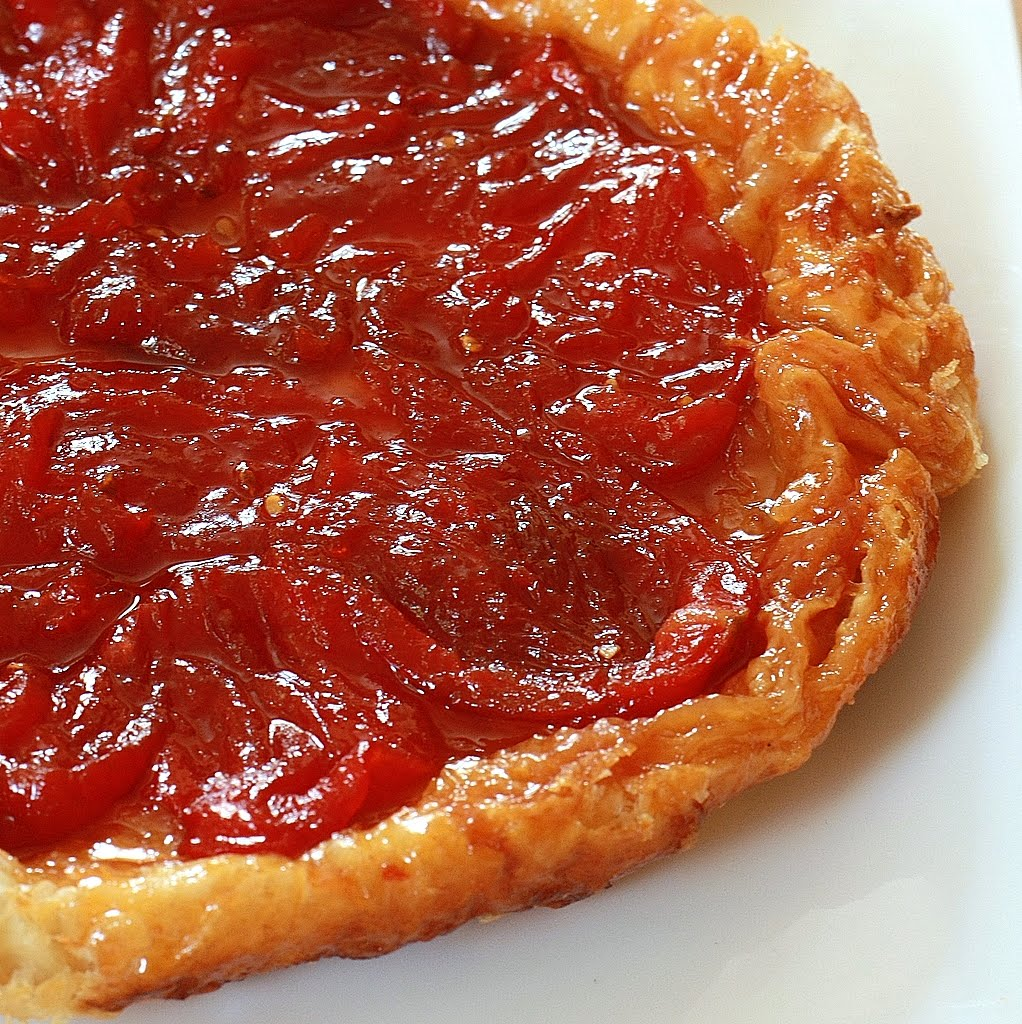 The Nesting Project: Tomato Tarte Tatin