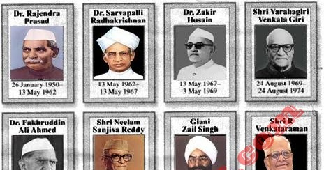 all the presidents of india Looking at the list of all 13 presidents of india and their educational qualification as india gets ready to welcome the 14th president with presidential poll results 2017 - presidential elections 2017: quick recap of all presidents of india and their academic qualifications.