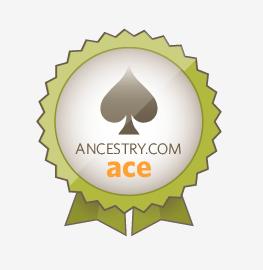 I'M AN ANCESTRY.COM ACE!!!