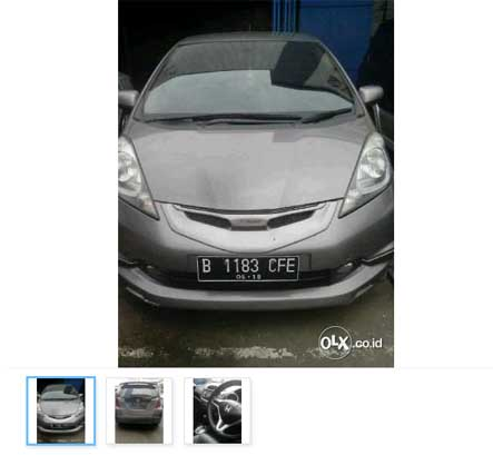 Mobil Bekas Jakarta Timur : Honda Jazz S A/t 2009