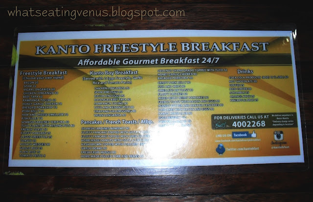 kanto freestyle breakfast