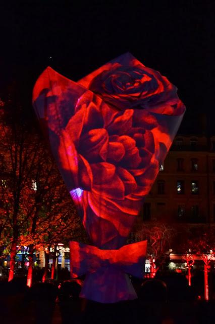 Fête des lumières Lyon 2013 Chantal Thomass Place de la Bourse