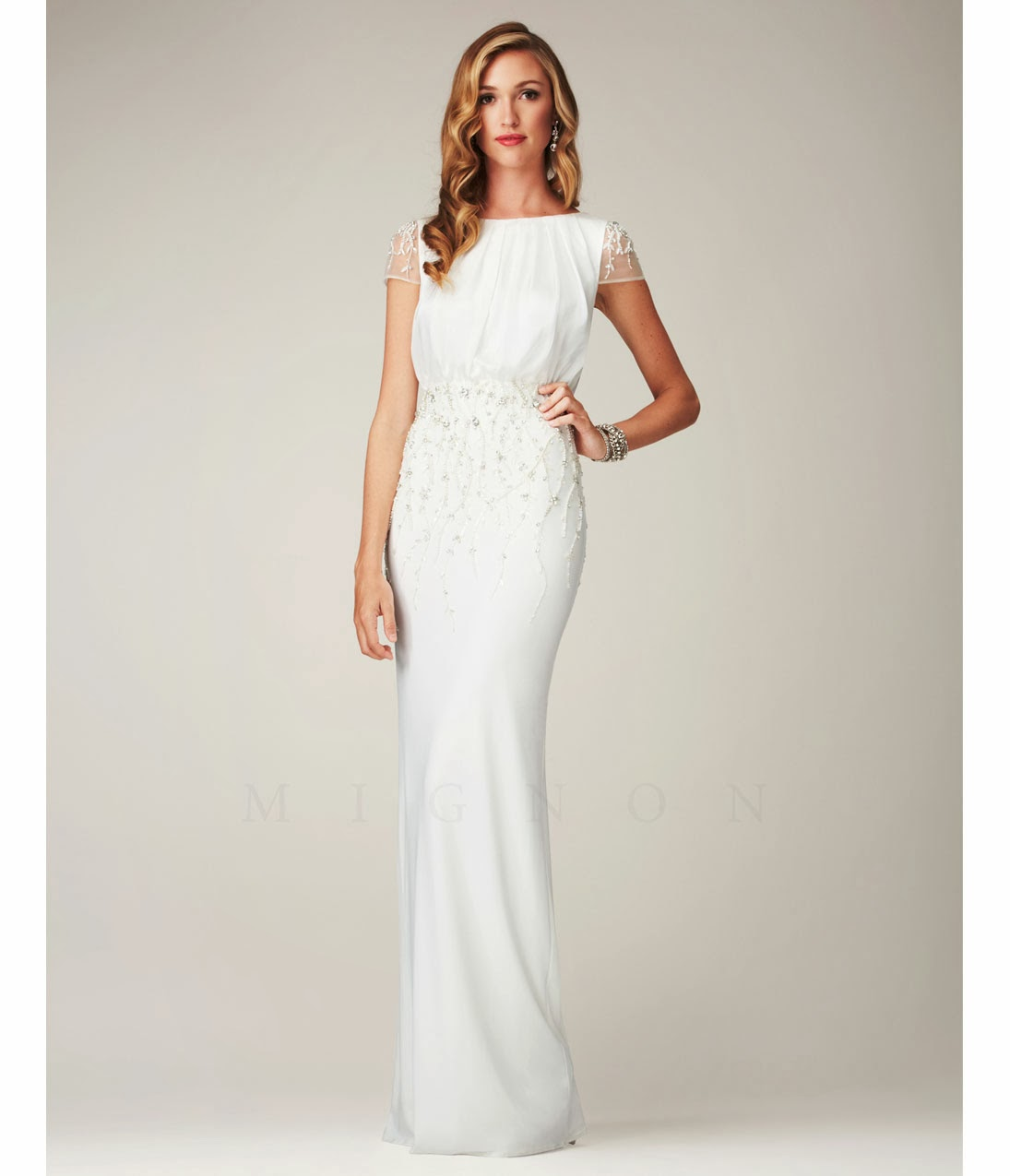 White Dress Pictures: February 2014 White Prom Dress
