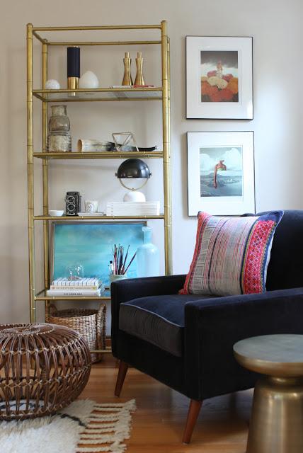 Einrichten und Wohnen wie ein Hipster - Messing und Marmor als Design Trend