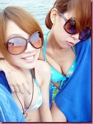 Toket Mengkel Gadis Bikini di Pantai