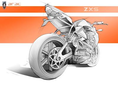 ARAC ZXS Motorcycle 2013