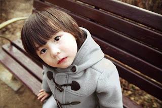 anak kecil lucu bergaya ala korea