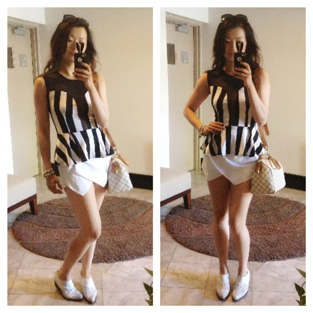 Sheside trendy white shorts, fashion blog, fashion blogger, trendy summer outfit