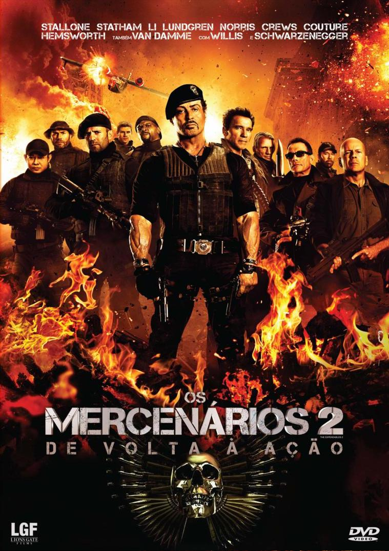 Os Mercenrios 2   Dublado