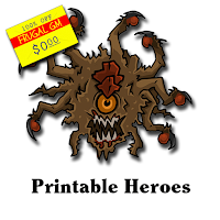 Free GM Resource: Printable Heroes