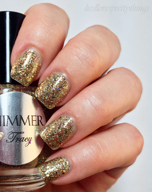Shimmer Tracy swatch and review