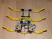 Robot lego hexapode pneumatique