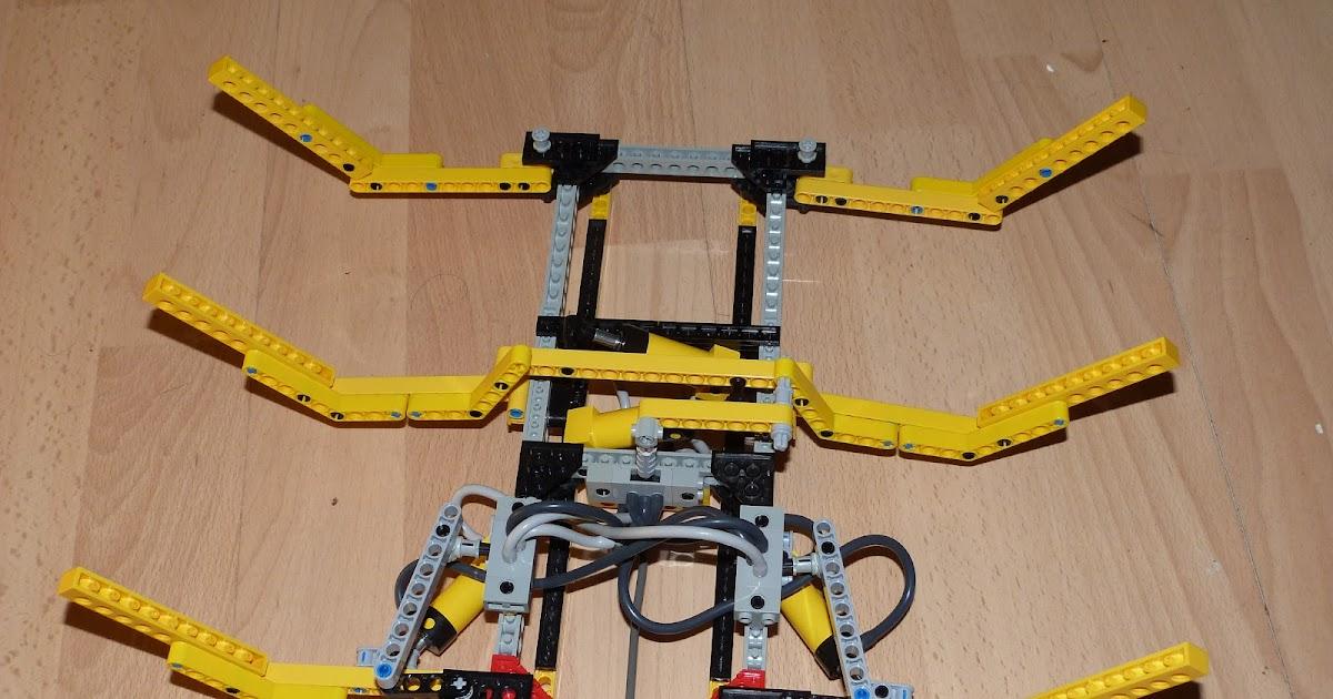 Artiom fedorov blog robot automate lego technics hexapod for Porte logique pneumatique
