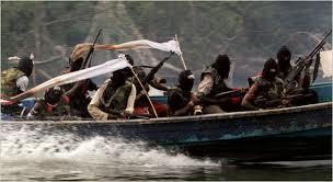 Pirates in a rubber boat