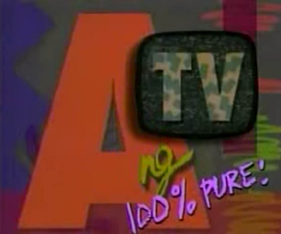 Ant TV ABS-CBN 90's Youth-Oriented Gag-Variety Show Philippines Title Card
