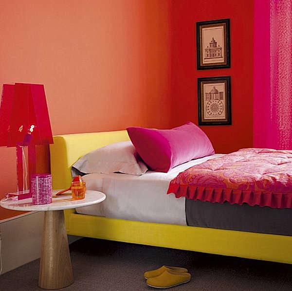 warna cat kamar tidur yang indah dipandang