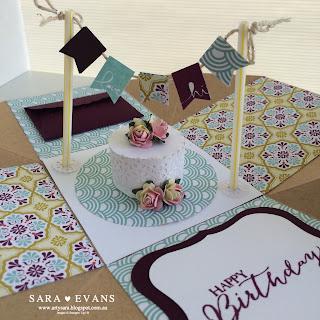 Exploding Box Card  - Cake