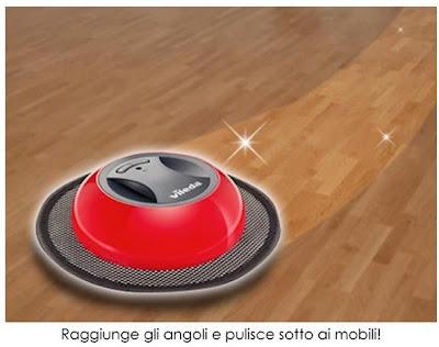 Vileda virobi robot senza fili catturapolvere ricaricabile for Ricambi scopa elettrica vileda