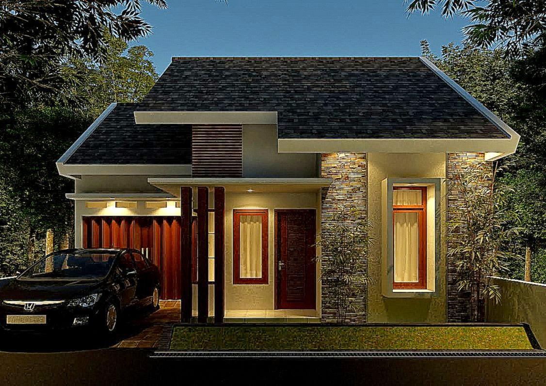 Sketsa Rumah Type 45 1 Lantai Model Minimalis 2015   Rumah Type 45