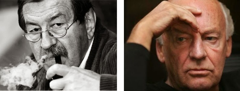 Günter Grass y Eduardo Galeano