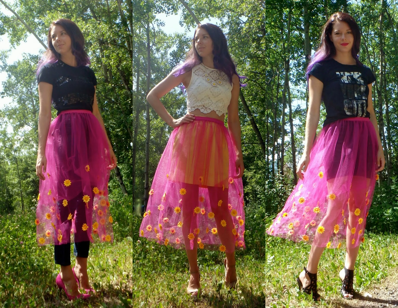 Sheer Skirt, DIY Skirt