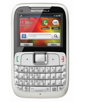 Motorola EX430 Blanco Tienda Claro Perú