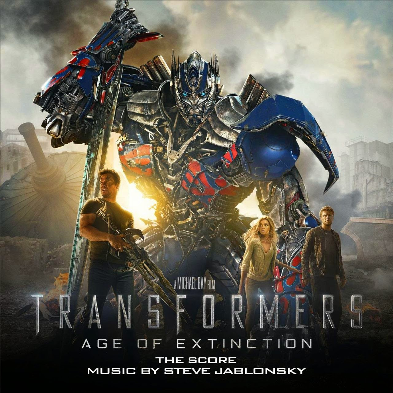 Cover Download   Transformers   Age of Extinction Soundtrack
