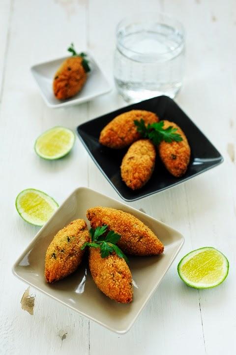 La cuisine au thon, c'est bon ! Croquettes croustillantes au thon et Farfalle au thon et au pesto!
