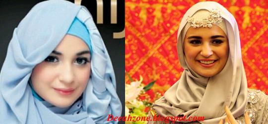 Jilbab ala Shireen Sungkar (Terbaru 2014)