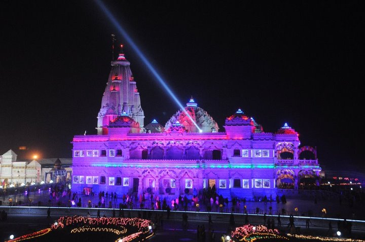 Best Sri Krishna Janmashtami Prem Mandir Images for free download