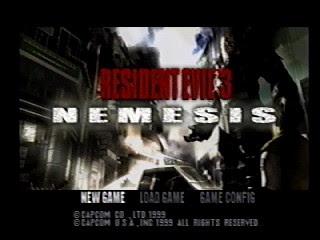 Resident evil 3 Nemesis Cover