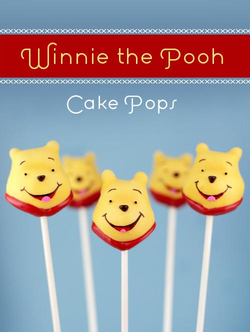 Hunny Pot Cake Pops