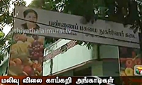 Affordable Price Vegetables Outlet Opened In Chennai