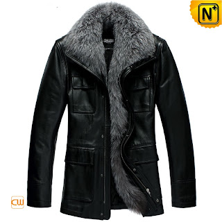 Men Black Coat